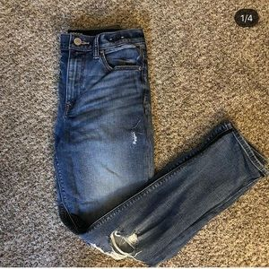 High Waist Express Girlfriend Jeans